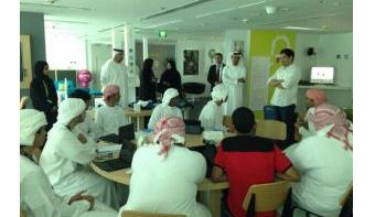 twofour54 tadreeb participates in ADEC's 'Hiwayaty' Summer Training program
