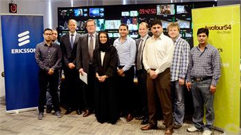 Ericsson partners with twofour54 to grow playout services in the Middle East