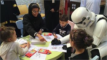 "twofour54 and ""Wanna Read?"" join forces to nurture young patients in UAE Year of Reading"