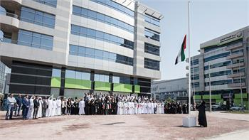 twofour54 community come together to celebrate UAE Flag Day
