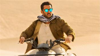 Bollywood icon Salman Khan featured in new behind-the-scenes images of forthcoming blockbuster 'Tiger Zinda Hai'