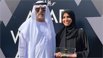 CEO of twofour54 recognised as a role model for young women through her contribution to UAE's booming media industry