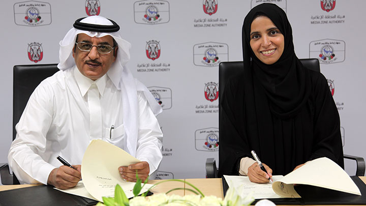 Media Zone Authority – Abu Dhabi and Gulf Radio and TV Organisation to cooperate to develop the media industry in the Gulf