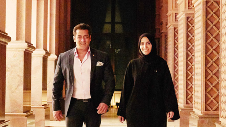 Abu Dhabi attracts another blockbuster as Salman Khan returns to shoot new action movie 'Race 3'