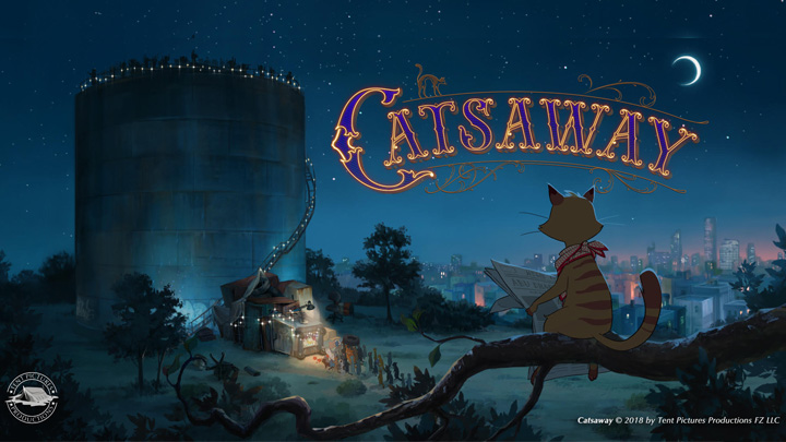 First trailer released for Abu Dhabi-set animated feature film 'Catsaway'