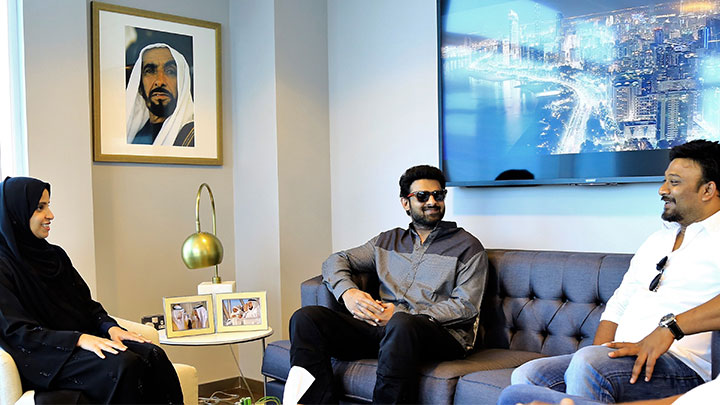 Best of Indian and International talent teams up in Abu Dhabi for new film 'Saaho'