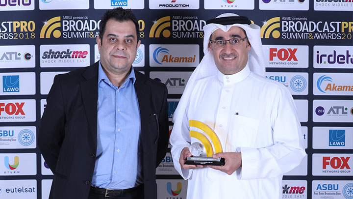 twofour54 named Broadcast Services Provider of the Year