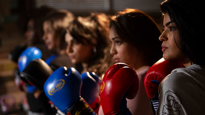 Boxing Girls Photo