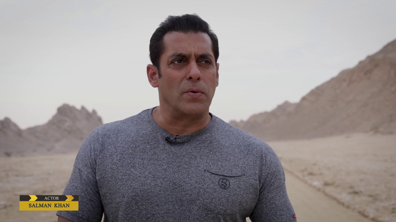 Exclusive behind the scenes of 'Bharat' in Abu Dhabi