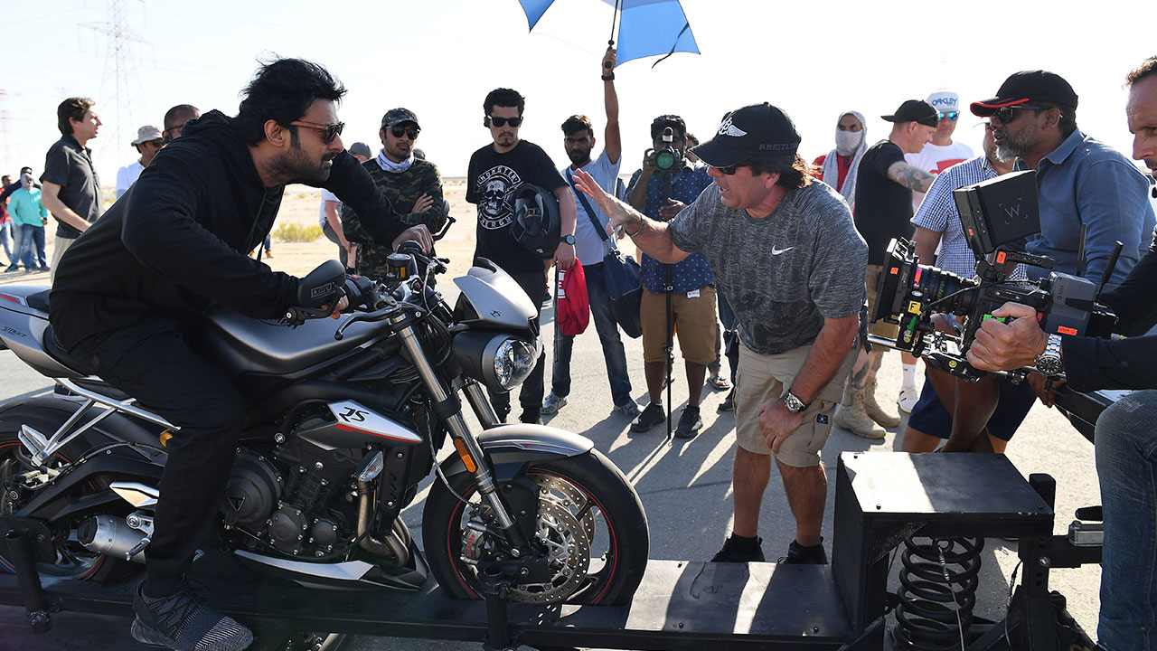 Photo Exclusive: twofour54's behind-the-scenes images of Prabhas on the 'Saaho' set in Abu Dhabi