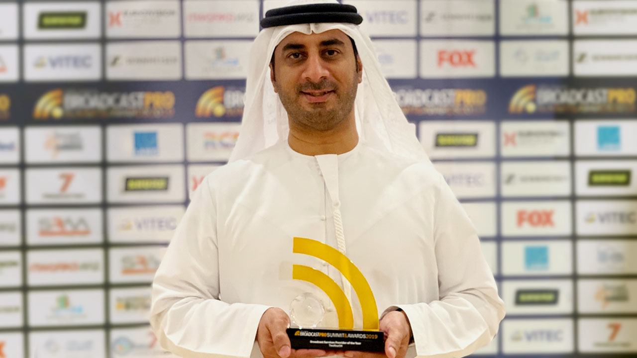 twofour54 Abu Dhabi named 'Broadcast Services Provider of the Year' for the second time in a row