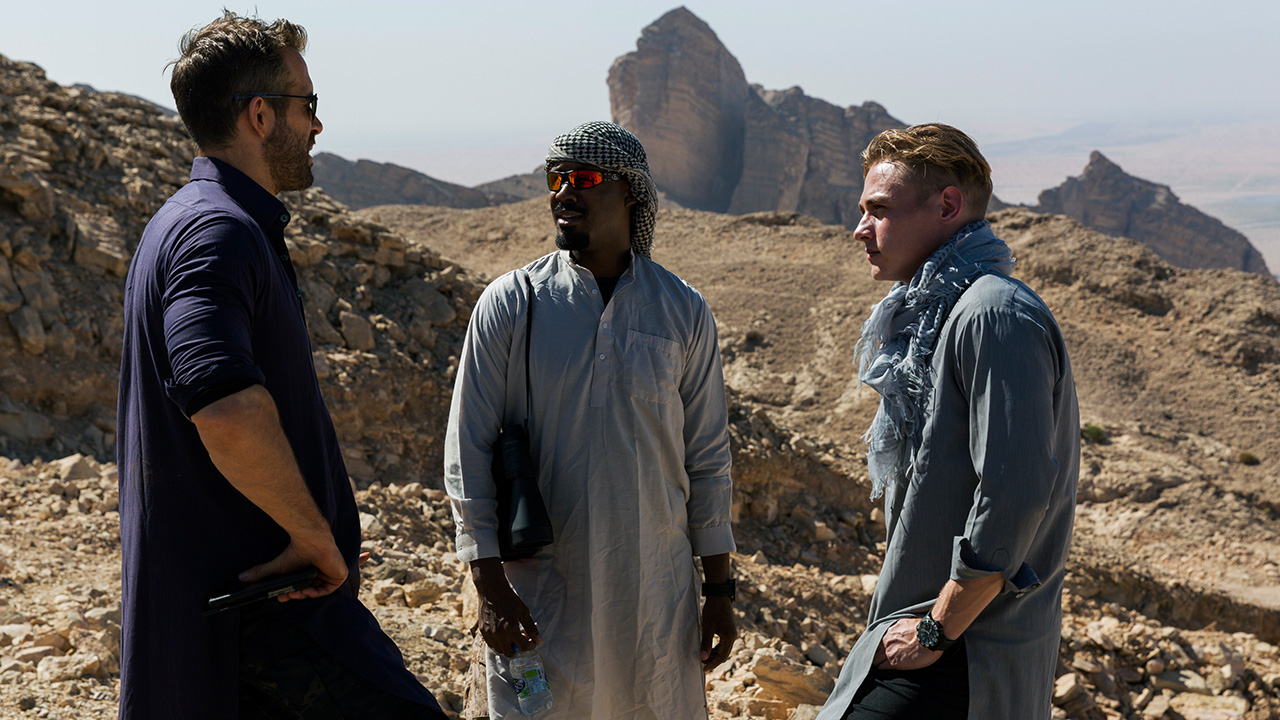 Exclusive: unseen images released of '6 Underground' filming in Abu Dhabi